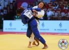 Astride Gneto (FRA), Angelica Delgado (USA) - Grand Slam Abu Dhabi (2016, UAE) - © IJF Media Team, IJF